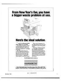 Maritime Reporter Magazine, page 43,  Nov 1988 Hamworthy Engineering Limited