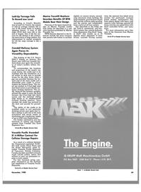 Maritime Reporter Magazine, page 47,  Nov 1988 steel keel block