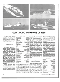 Maritime Reporter Magazine, page 60,  Nov 1988