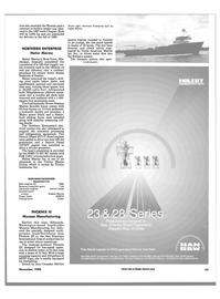 Maritime Reporter Magazine, page 61,  Nov 1988