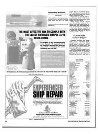Maritime Reporter Magazine, page 64,  Nov 1988 Virginia