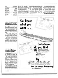 Maritime Reporter Magazine, page 69,  Nov 1988