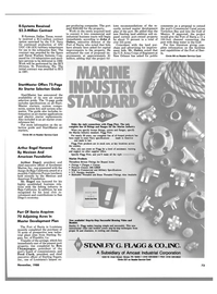 Maritime Reporter Magazine, page 71,  Nov 1988 Pennsylvania