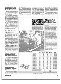 Maritime Reporter Magazine, page 73,  Nov 1988