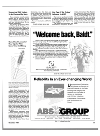 Maritime Reporter Magazine, page 75,  Nov 1988 S-1100