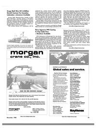 Maritime Reporter Magazine, page 77,  Nov 1988