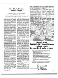 Maritime Reporter Magazine, page 85,  Nov 1988 Bruno Klaus