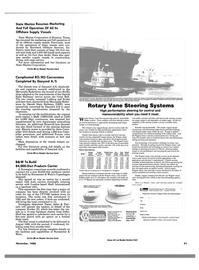 Maritime Reporter Magazine, page 89,  Nov 1988