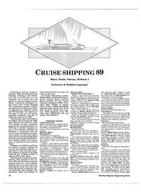 Maritime Reporter Magazine, page 8,  Jan 1989 Florida