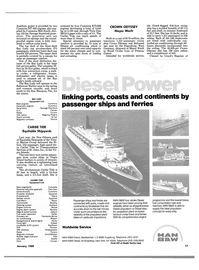 Maritime Reporter Magazine, page 15,  Jan 1989
