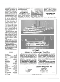 Maritime Reporter Magazine, page 17,  Jan 1989 Louisiana