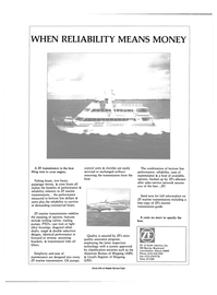 Maritime Reporter Magazine, page 2nd Cover,  Jan 1989