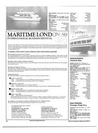 Maritime Reporter Magazine, page 22,  Jan 1989 Vivian Cebollero