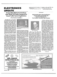Maritime Reporter Magazine, page 47,  Jan 1989 vessel traffic control applications