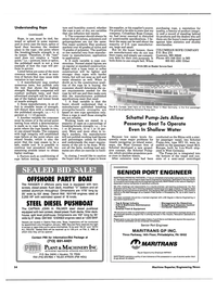 Maritime Reporter Magazine, page 48,  Jan 1989 high integrity will