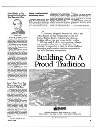 Maritime Reporter Magazine, page 7,  Jan 1989