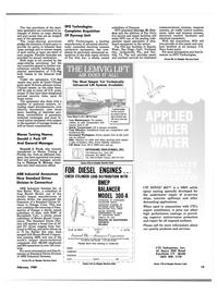 Maritime Reporter Magazine, page 13,  Feb 1989