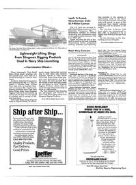 Maritime Reporter Magazine, page 40,  Feb 1989