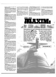 Maritime Reporter Magazine, page 41,  Feb 1989