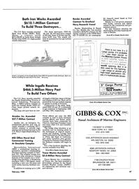 Maritime Reporter Magazine, page 45,  Feb 1989