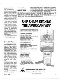 Maritime Reporter Magazine, page 3,  Feb 1989