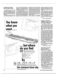 Maritime Reporter Magazine, page 56,  Feb 1989