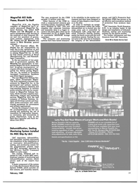 Maritime Reporter Magazine, page 57,  Feb 1989