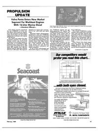 Maritime Reporter Magazine, page 59,  Feb 1989