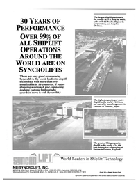 Maritime Reporter Magazine, page 4th Cover,  Feb 1989