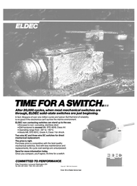 Maritime Reporter Magazine, page 2nd Cover,  Mar 1989 Eldec Corporation