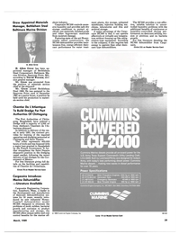 Maritime Reporter Magazine, page 39,  Mar 1989 Trinity