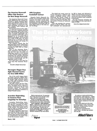 Maritime Reporter Magazine, page 43,  Mar 1989 Florida