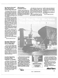Maritime Reporter Magazine, page 43,  Mar 1989 Florida