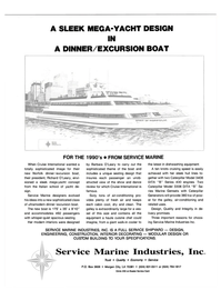 Maritime Reporter Magazine, page 3rd Cover,  Mar 1989 Caterpillar