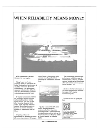 Maritime Reporter Magazine, page 4th Cover,  Mar 1989