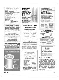 Maritime Reporter Magazine, page 99,  Apr 1989