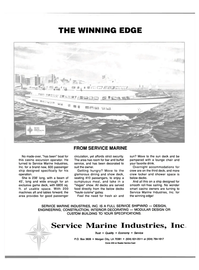 Maritime Reporter Magazine, page 3rd Cover,  Apr 1989 Service Marine Industries Inc.