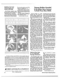 Maritime Reporter Magazine, page 10,  Apr 1989 California
