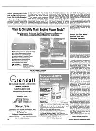 Maritime Reporter Magazine, page 12,  Apr 1989 California