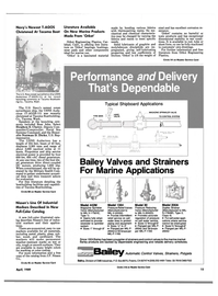 Maritime Reporter Magazine, page 13,  Apr 1989 S-17849D