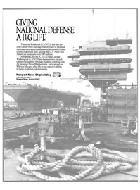 Maritime Reporter Magazine, page 2nd Cover,  Apr 1989 Abraham Lincoln