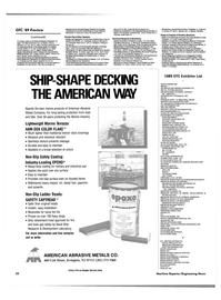 Maritime Reporter Magazine, page 26,  Apr 1989