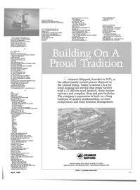 Maritime Reporter Magazine, page 35,  Apr 1989