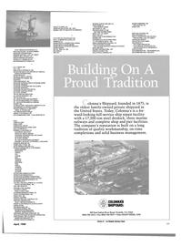Maritime Reporter Magazine, page 37,  Apr 1989