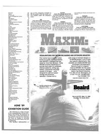 Maritime Reporter Magazine, page 55,  Apr 1989