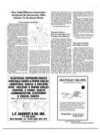Maritime Reporter Magazine, page 4,  Apr 1989 Sardinia