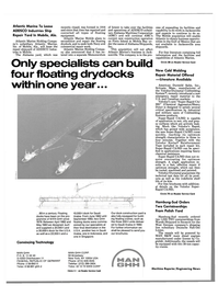 Maritime Reporter Magazine, page 68,  Apr 1989 New York