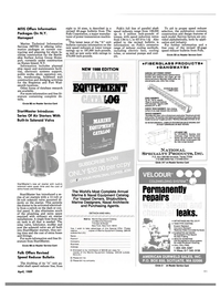 Maritime Reporter Magazine, page 89,  Apr 1989 Revised Speed Reducer Bulletin The