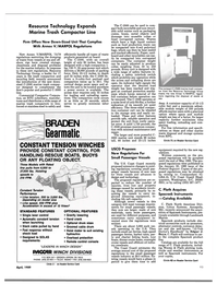 Maritime Reporter Magazine, page 91,  Apr 1989