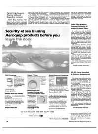 Maritime Reporter Magazine, page 92,  Apr 1989